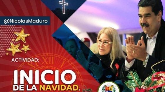 """O início das celebrações natalícias na Venezuela ocorre depois de o presidente Nicolás Maduro anunciar que aprovou """"recursos para adquirir 10 milhões de brinquedos como parte do plano Natais Felizes"""""""