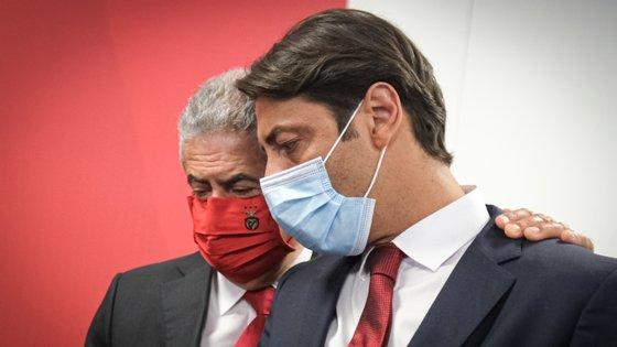 Rui Costa foi confirmado como vice da Direção nas listas de Luís Filipe Vieira, que têm Rui Pereira como líder da AG e Fonseca Santos no Conselho Fiscal