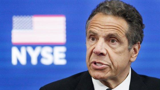 """Andrew Cuomo, governado do estado de Nova Iorque, pedira à comunidade judaica ortodoxa para evitar concentrações como forma de """"salvar vidas"""""""