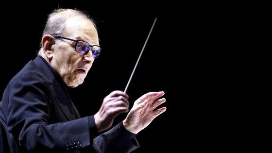 O compositor italiano, Ennio Morricone, morreu em julho deste ano