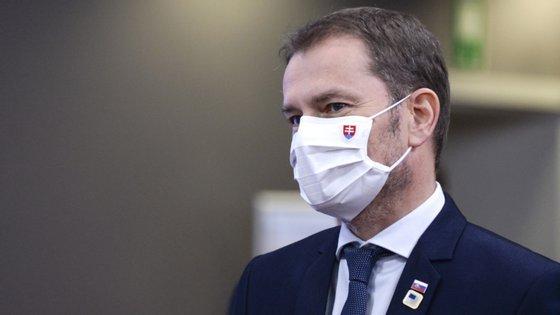 De acordo com o primeiro-ministro, a Eslováquia adquiriu 13 milhões de testes antigénicos