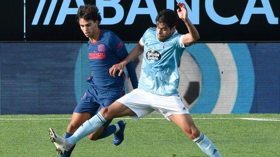João Félix entrou no início da segunda parte para o lugar do lesionado Diego Costa no início da segunda parte e esteve na jogada que sentenciou o jogo