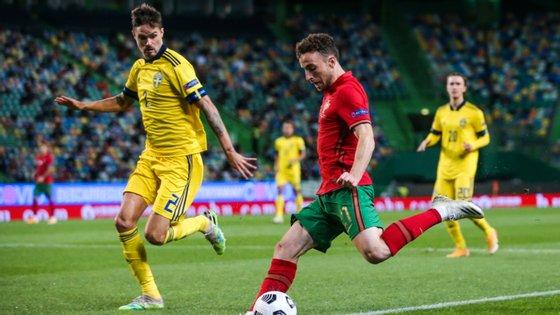 Jogo de Portugal com a Suécia já tinha sido de teste e tinha tido 5.000 espectadores