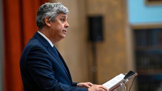 Mário Centeno, governador do Banco de Portugal.