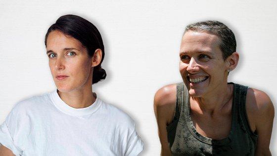 """Claire Touzard e Stéphanie Braquehais publicaram em janeiro os livros """"Sans alcool"""" (Flammarion) e """"Jour Zéro"""" (L'Iconoclaste), respetivamente"""