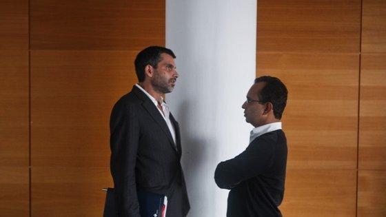Pedro Norton com Ricardo Costa, diretor do Expresso