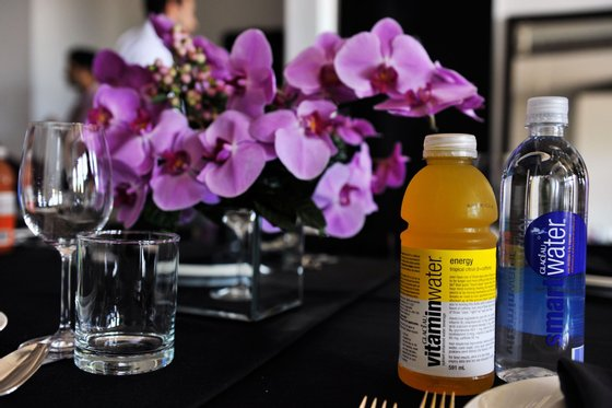 attends vitaminwater Rooftop Lunch With Chef Tom Colicchio during the 2011 Toronto International Film Festival on September 10, 2011 in Toronto, Canada.