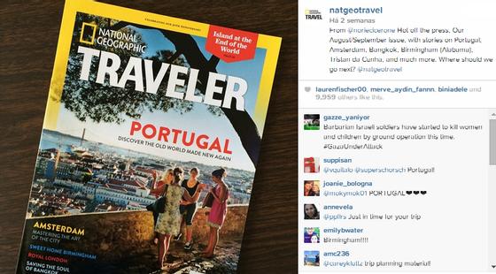 National Geographic Traveler Instagram