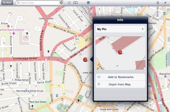 citymaps2go, app, mapa