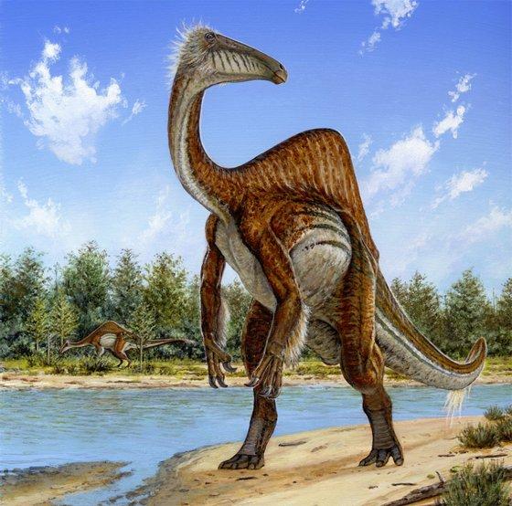 Deinocheirus mirificus_Michael Skrepnick