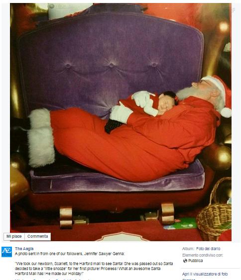 Pai Natal bebe