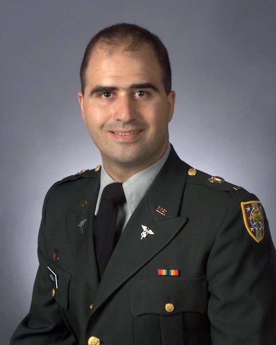 UNDATED:   In this undated handout photo from the website of the U.S. Government Uniformed Services University of the Health Sciences downloaded on November 6, 2009, Maj. Nidal Malik Hasan, the U.S. Army doctor named as a suspect in the shooting death of 13 people and the wounding of 31 others at Fort Hood, Texas November 5, is pictured.  (Photo by U.S. Government Uniformed Services University of the Health Sciences via Getty Images)