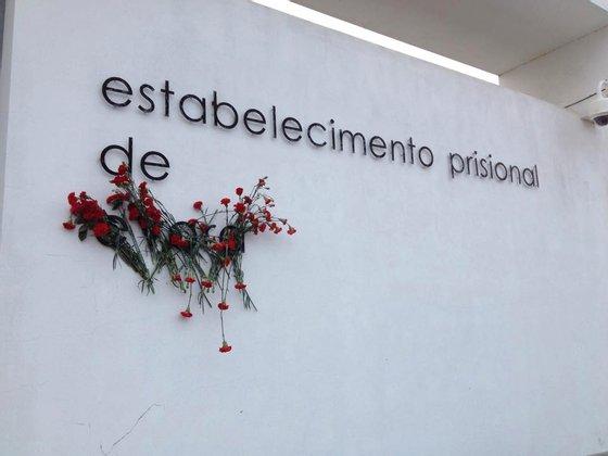Cravos cadeia Évora