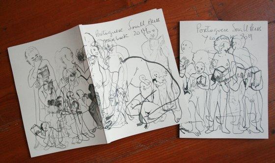 Anuário sobre as pequenas editoras Portuguesas. Da autoria de Catarina Figueiredo Cardoso e Isabel Baraona