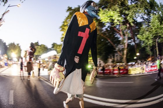 Lisboa , 12/06/2014 - Carnaval Torres Vedras nas Marchas de Lisboa ( Júlio Lobo Pimentel / Global Imagens )