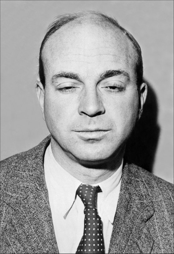 UNITED STATES: Portrait dated 21 January 1947 of John Dos Passos, US novelist and war correspondent, born in Chicago (1896-1970). He studied at Harvard, and was an ambulance driver in the later years of WWI, out of which came his anti war novel Three Soldiers (1921). He then worked in Europe and elsewhere as a newspaper correspondent. His best-known work is the trilogy on US life, U.S.A. (1930-6). (Photo credit should read AFP/AFP/Getty Images)