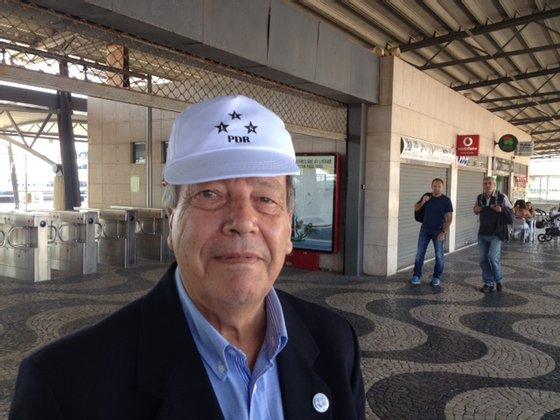 Rodrigo de Sousa e Castro, cabeça de lista do PDR em Lisboa