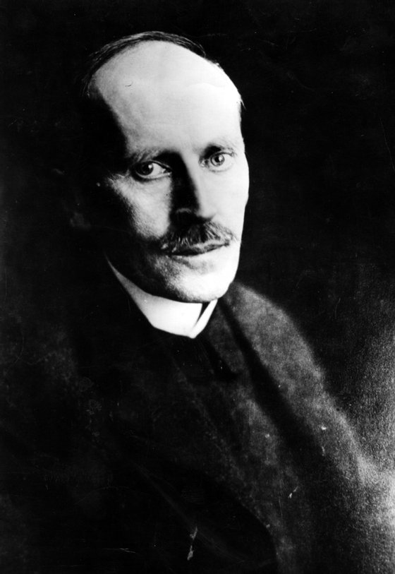 Romain Rolland (1866 - 1944) French writer. (Photo by Hulton Archive/Getty Images)