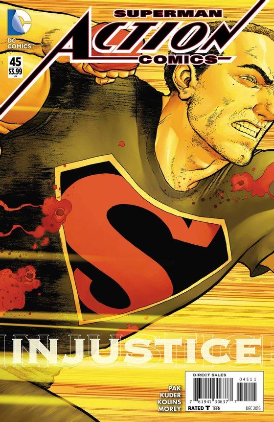 action comics superman