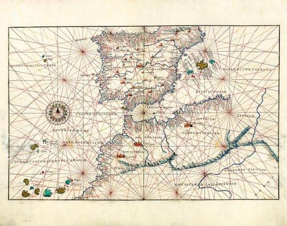 Portolan Atlas of Battista Agnese
