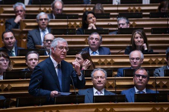 Debate quinzenal 28 de fevereiro, Pedro Passos Coelho, António Costa, primeiro-ministro, Hugo Soares, Fernando Negrão,