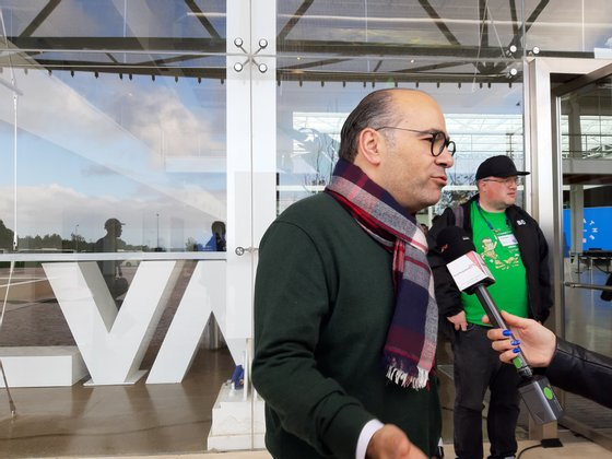 Miguel Pinto Luz, vice-presidente da Câmara de Cascais, foi um dos responsáveis pelo The Gathering
