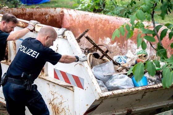 GERMANY-BRITAIN-POLICE-MISSING-MADDIE-MCCANN