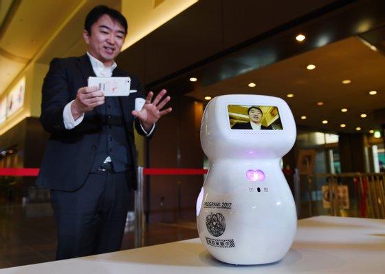 JAPAN-ROBOT-AIRPORT