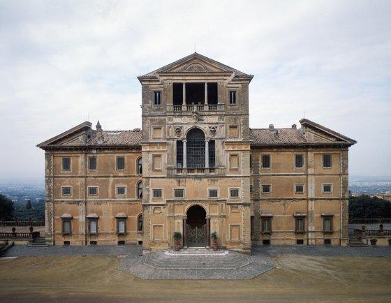 Villa Aldobrandini Outside of Rome