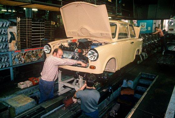 DDR Trabant Factory