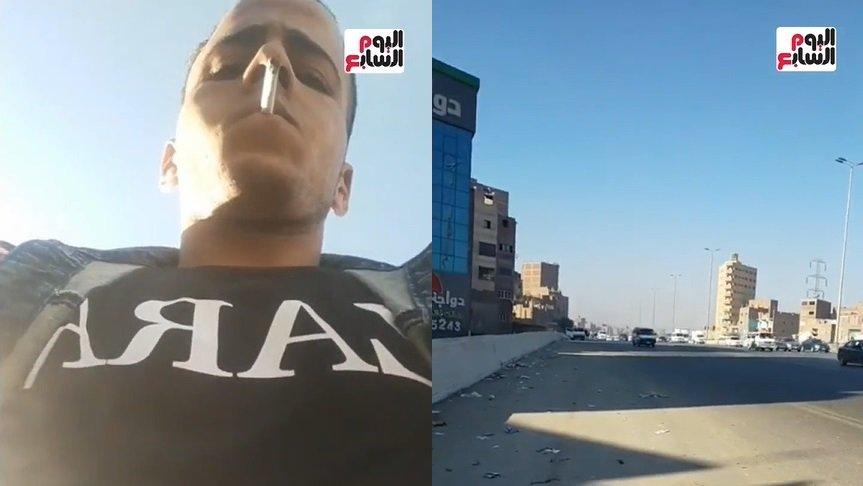 Ladrão de telemóvel em direto para o Facebook no Egito