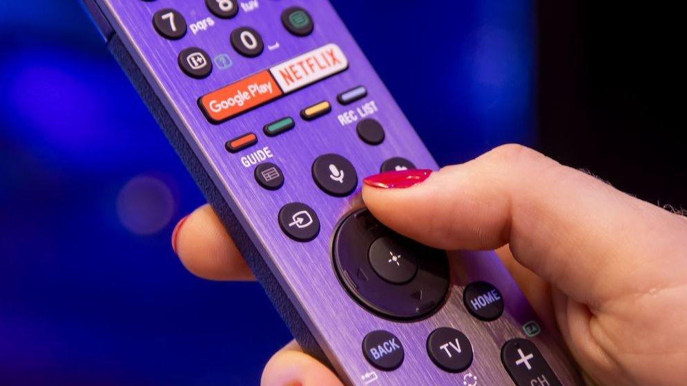 Comando televisão fotografia genérica